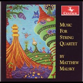 Music For String Quartet by Matthew Malsky