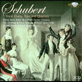 Schubert: Vocal Duets, Trios & Quartets