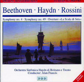 Beethoven, Haydn, Rossini / Alun Francis, Bolzano