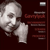 Rachmaninov, Prokofiev & Scriabin: Piano Works / Alexander Gavrylyuk