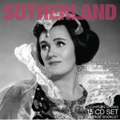 Legendary Performances: Sutherland / Complete Operas [15 CDs]