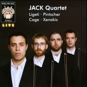 String Quartets by Ligeti, Pintscher, Cage, Xenakis / Jack Quartet