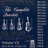 Beethoven: The Complete Quartets Vol VII / Orford Quartet