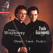 Chopin, Faur&eacute;, Poulenc / Peter Wispelwey, Paolo Giacometti