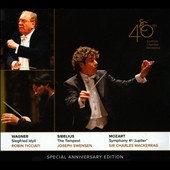 Scottish Chamber Orchestra 40th Special Anniversary Edition - Wagner: Siegfried Idyll / Ticciati; Sibelius: Tempest / Swensen; Mozart: Symphony 41 / Mackerras