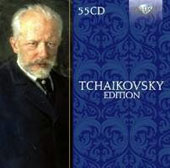 Tchaikovsky Edition - symphonies, concertos, ballets, suites, piano works, string quartets, songs, operas (8) /  [55 CDs]