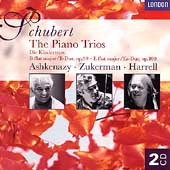 Schubert: The Piano Trios / Ashkenazy, Zukermann, Harrell