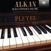 Charles-Valentin Alkan (1813-88): Solo Piano Music: studies, miniatures and character pieces / Costantino Mastroprimiano, piano