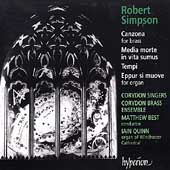 Simpson: Canzona, etc / Best, Corydon Singers, Quinn, et al