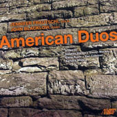 'American Duos' - Works by Stephen Hartke + Steven Mackey; Elena Ruehr + Dan Coleman; Barbara White / Jennifer Frautschi, violin; John Blacklow, piano