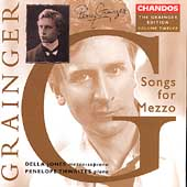 Grainger Edition Vol 12 - Songs for Mezzo / Jones, Thwaites