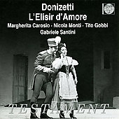 Donizetti: L'Elisir d'Amore / Santini, Carosio, Gobbi, et al