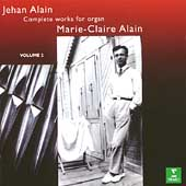 Alain: Complete Works for Organ Vol 2 / Marie-Claire Alain