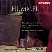 Hummel: Piano Concerto in F, etc / Howard Shelley, et al