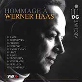 Archive - Hommage &agrave; Werner Haas - Beethoven, Chopin, et al
