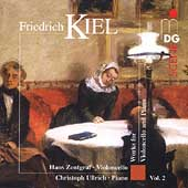 SCENE  Kiel: Works for Cello & Piano Vol 2 / Zentgraf