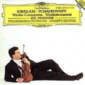 Sibelius, Tchaikovsky: Violin Concertos / Shaham, Sinopoli