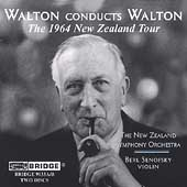 Walton Conducts Walton - The 1964 New Zealand Tour/ Senofsky