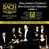 Corelli: Concerti Grossi / Thomas, American Bach Soloists