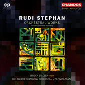 Stephan: Orchestral Works / Caetani, Stadler, Melbourne SO