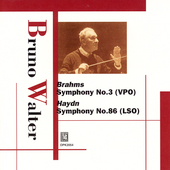 Mozart, Haydn, Brahms / Bruno Walter