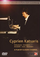 International Festival of Luxembourg / Cyprien Katsaris [2 DVD]