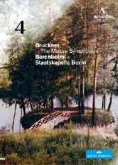 Bruckner: The Mature Symphonies - Symphonhy No. 4 / Daniel Barenboim, Staatskapelle (live, June 2010) Berlin [DVD]