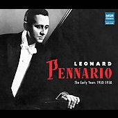 Leonard Pennario - The Early Years 1950-1958