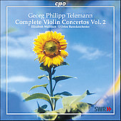 Telemann: Complete Violin Concertos Vol 2 / Wallfisch, et al