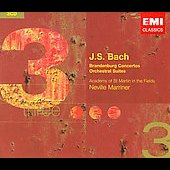 Bach: Brandenburg Concertos no 1-6, etc / Marriner, et al