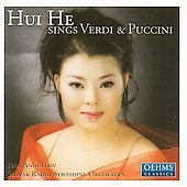 Hui He sings Verdi and Puccini / Anguélov, Slovak RSO