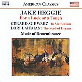 American Classics - Heggie, Schwarz, Laitman / Mina Miller, Music of Remembrance