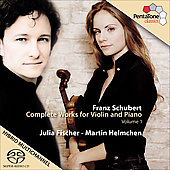 Schubert: Complete Works for Violin Vol 1 / Julia Fischer