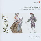 Mozart: Le Nozze di Figaro - Romance on the Piano - works by Hummel, Beethoven, Thalberg, Ries / Babette Dorn, piano