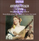 Vivaldi: Le Cantate-First Part