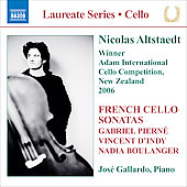 Laureate Series: Cello - French Cello Sonatas