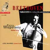 Beethoven: Variations for violoncello / Wispelwey, Shapiro