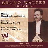 Bruno Walter in Paris - Haydn, Berlioz