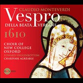 Claudio Monteverdi: Vespro della Beata Vergine / Choir of New College, Oxford