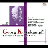 Georg Kulenkampff: Concerto Recordings, Vol. 4
