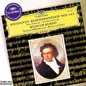 Beethoven: Piano Concertos nos 4 & 5 / Kempff, Leitner
