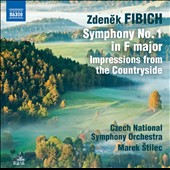 Zdenek Fibich: Symphony No. 1; Impressions from the Countryside / Czech Nat'l SO, Stilec