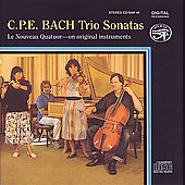 C.P.E. Bach: Trio Sonatas / Ikeda, Weiss, Caudle, Nicholson