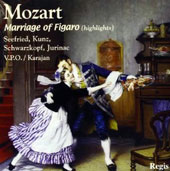 Mozart: Marriage of Figaro (Highlights) [Regis Records]