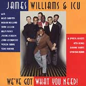 James Williams & ICU (Piano): We've Got What You Need