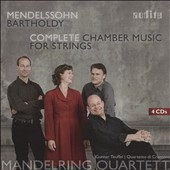 Mendelssohn: Complete Chamber Music for Strings / Mandelring Quartet [4 CDs]