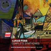 Lukas Foss (1922-2009): Complete Symphonies (4) Nos. 1 - 4 / Boston Modern Orchestra Project; Gil Rose [2 CDs]