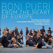 From the Heart of Europe - Music for Boys Choir by Handel, Reicha, Caccini, Franck, J.S. Bach, Smetana, Chen, Popelka / Christina Johnston, soprano; Czech Boys Choir Boni Pueri