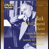 J.S. Bach: The Well-Tempered Clavier / Sviatoslav Richter, piano