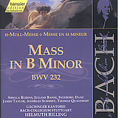 Edition Bachakademie Vol 70 -  Mass in B Minor BWV 232
